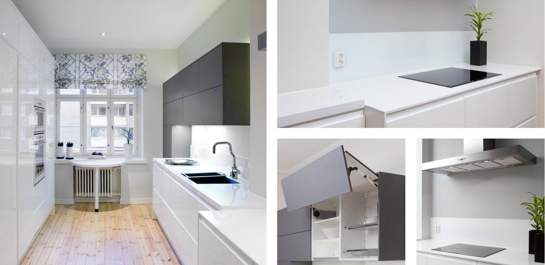 modernia linjakkuutta Rakennusliike Myske Oy keittiö Kotiisi sopiva keittiö helposti ilman huolta hinnasta